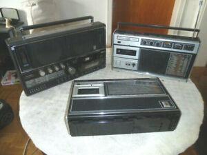 3 Transistorradios Grundig RR3000 + Grundig C6000 + Grundig C6200