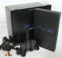 PS2 Console System SCPH-50000 Only for NTSC-J Midnight Black Playstation2 9465