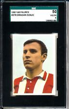 1967-68 Palirex Dragan Dzajic SGC 50 = PSA 4 Serbian legend! Rookie card!!!