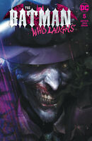 Batman Who Laughs 5 Francesco Mattina Trade Variant Joker