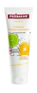 PEDIBAEHR Wellness Frucht Fußcreme Orange Lemongras 125ml