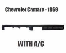 Chevrolet Camaro 1969 Molded Dash Cap Cover Overlay
