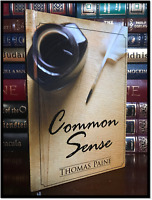 Common Sense by Thomas Paine Brand New Hardback Landmark Document Declaration
