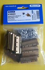 neu Massoth Schraubschienenverbinder Spur G 39mm Messing, 24 Stck. Art: 8100424