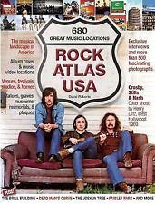 Rock Atlas USA: The Musical Landscape of America (Softback)