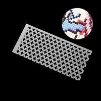 DIY Diamond Painting Cross Stitch Tools Ding Ruler Square Drill Diamond EmbrW9S1