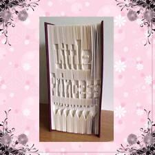 Little Princess Libro Arte Plegable Patrón cortar y doblar método #1143