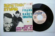 Frank & Nancy Sinatra ‎– Somethin' Stupid - 45 tours