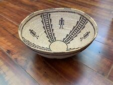 Panamint Basket with Human Figures, Very Fine Weave