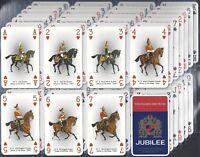 LAURENS LTD- FULL SET- BRITISH CAVALRY UNIFORMS (P/C INSET NO JOKERS M52 CARDS)