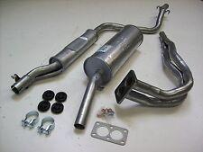 Auspuff Auspuffanlage Abgasanlage 3tlg. VW Scirocco 1 110PS  Bj. 76-