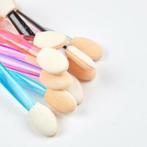 Makeup Foam Double-end Eye Shadow Sponge Brush Applicator Tools Bulk