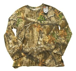 Under Armour Men's Realtree Edge UA Scent Control Forest Camo Long Sleeve Shirt