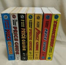 Overstreet Comic Book Price Guide Lot #9 - 15 (1979-1985) 7 Volumes FREE SHIP