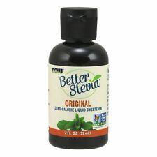 Better Stevia Liquide Original 59ml par Now Foods