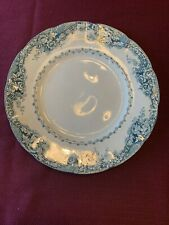 Antique 1873 Gj & Sons Semi Porcelain Plate With Impressed Markings