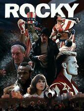 Rocky Art Print, Sports Drama Film Poster, Boxer, Wall Deco 11x17 16x24