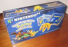 Nintendo 64 Pokemon Edition Console Set - BOXED - PAL - N64 - ede