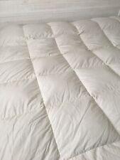 "CUDDLEDOWN Down Comforter Ivory 86"" X 86"" Double? Full?"