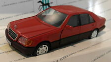 Cursor models 1/43 Scale diecast 71312 Mercedes Benz 600 SEL W140 S Red