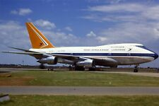 More details for original 35mm colour slide of south african airways 747sp-44 zs-spb in 1979