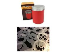Chocolate Shaker Red & Coffee Art Stencils x 16 Chocolate Cappuccino Espresso