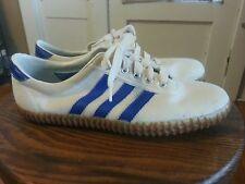 "RARE Vintage 1979 Adidas ""All Around"" Trainers Tennis Shoes 3 Stripe Men's 8"