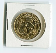 1998 Pinnacle Mint - RANDY JOHNSON - Gold Plated Artist's Proof Coin - 1 of 100