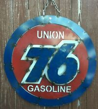 Union 76 Gasoline Gas Motor Oil 3D Sign 22 1/2 Inches
