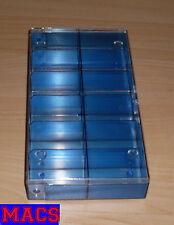 Sortimentskasten 12 Unterteilungen Fächer komplett: (LxBxH) 193x101x30,5 mm Neu