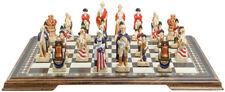 Studio Anne Carlton Chess American Revolutionary Handpainted