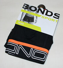 Bonds Mens Black Sports Active FIT Trunk Brief Size XL New MZC9G