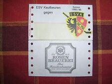 Eintrittskarte Blanko vom ESV Kaufbeuren