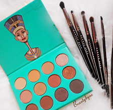 ORIGINAL NUBIAN Palette by JUVIA'S  PLACE Eyeshadow 12 Colors GREEN BOX 24 HRS