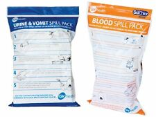 Gv salud Biohazard derrame Duo Pack-Blood & urine/vomit
