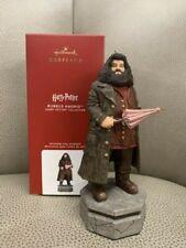 2020 Hallmark Rubeus Hagrid Harry Potter Collection Story Teller Ornament *Nib*