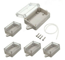 5pcs Waterproof Clear Cover Project Electronic Box Enclosure Case 85*58*33mm NEW