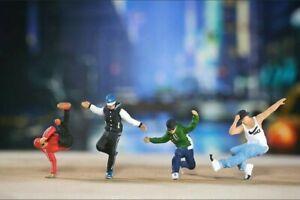 Miniature Figure Breakdance 1/87 or 1/64 Diecast  Hotwheel