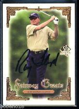 Raymond Floyd signed autographed Auto 2001 SP Authentic PGA Golf card #104