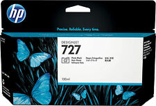 original HP Nr. 727 photo black  B3P23A T920 T930 T1500 T2500 MHD 04/2019 A-Ware