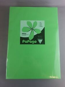 Papago - Billiard Green - A3 Coloured Paper - 80gsm - 500 Sheets - New - Free PP