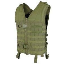 Condor MV OD GREEN Modular Style Vest MOLLE Chest Rig Map Utility Pocket
