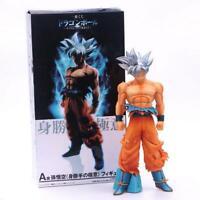 "10"" Dragon Ball Super Saiyan Goku Ultra Instinct Statue PVC Figure Model Doll"