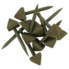 Medieval Renaissance Knights Reign Hand Forged Iron Spikes Nail Replica Set