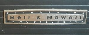Working 1960s Bell & Howell Filmosound 535 Projector From Original Owners Estate