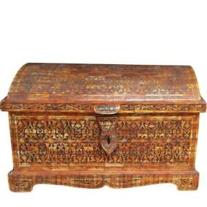 Moroccan Berber Jewelry Storage Chest - Hand-Carved Bone - Handmade in Morocco