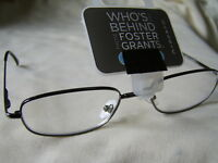 """Foster Grant""""Tolstoy""""Metal Framed Reading Glasses RRP £10.50 From  £4.99..."""