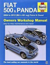 FIAT 500 & PANDA HAYNES WORKSHOP MANUAL 2004 to 2012 Petrol/ Diesel 53 to 61reg