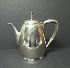 """REED & BARTON """"TOWN & COUNTRY"""" STERLING SILVER MID-CENTURY TEAPOT, 560 grams"""