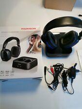 """Thomson Casque sans fil TV """"WHP3311BK"""" (Over-Ear, avec station de recharge systè"""